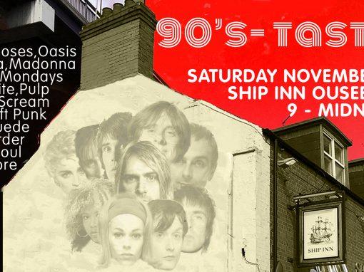 90s-tastic DJ Night