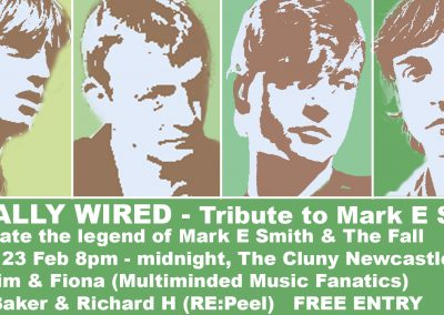 Mark E Smith and Fall Tribute